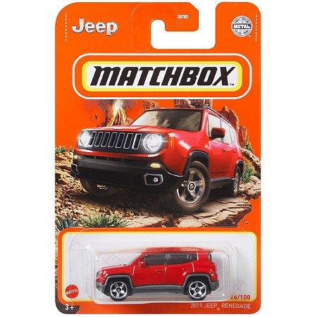 Jeep Renegade - Matchbox
