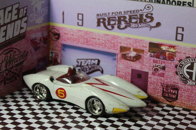 Speed Racer - 1/32 - Jada Toys - Sucata