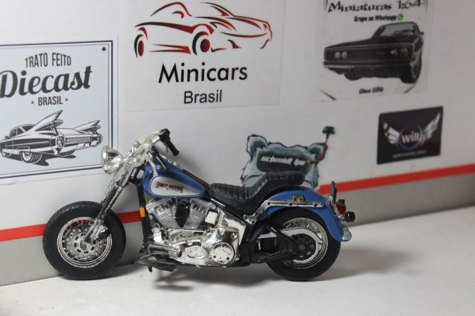 Moto Harley Davidson - 1/18