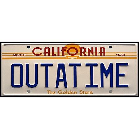 Placa Out a Time - California - MDF