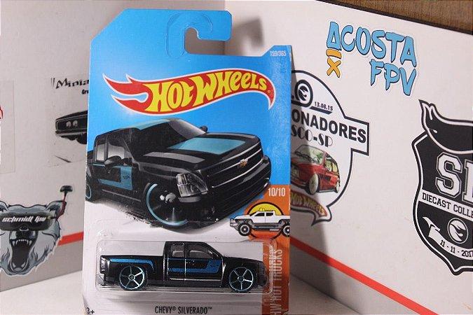 Chevy Silverado - Preta - Art Cars