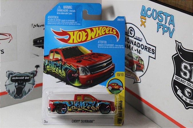 Chevy Silverado - Art Cars - Vermelha