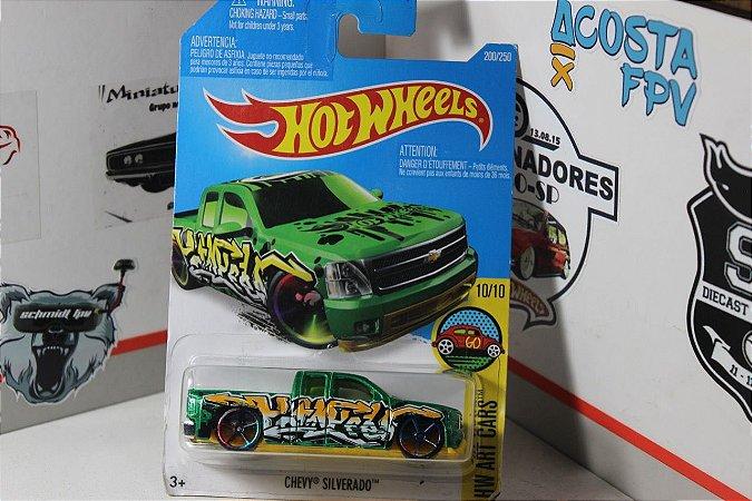 Chevy Silverado - Art Cars - Verde