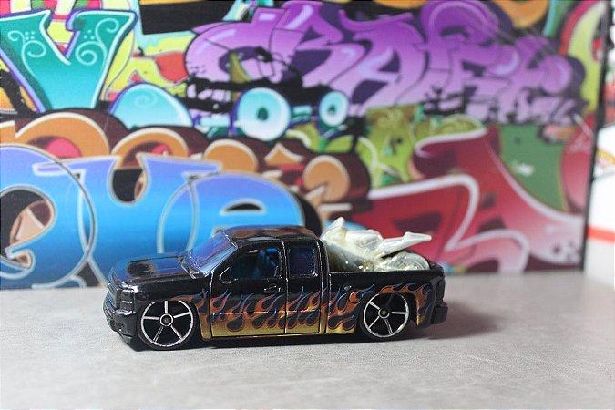 Chevy Silverado - Flames - RARIDADE