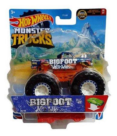 Monster Truck Hot Wheels - Big Foot 1:64