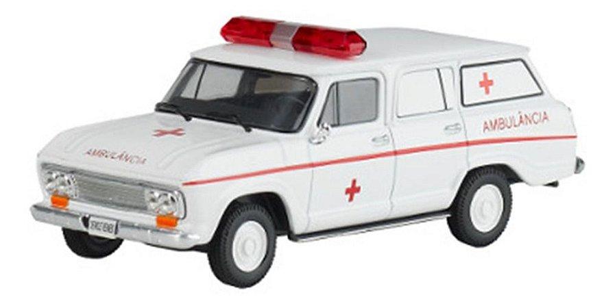 Chevrolet Veraneio - Ambulância - Veículos De Serviço Do Brasil - 1/43