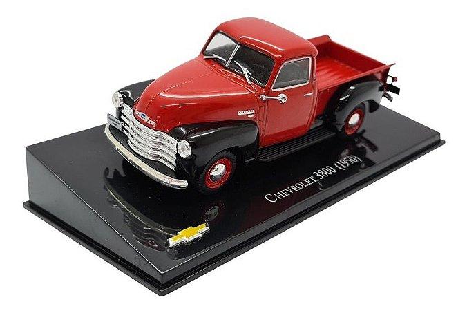 Chevrolet 3800 1950 Vermelho -  1:43