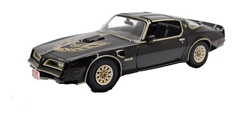 Pontiac Firebird 1977 Preto Metal 1:43