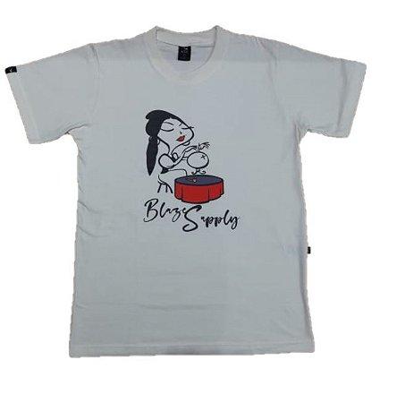 Camiseta Blaze Supply Fortune Off White