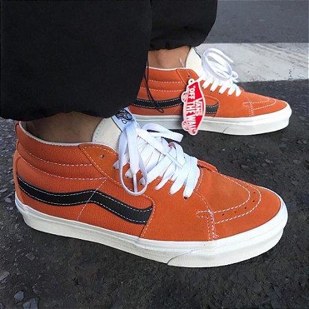Tênis Vans Sk8-Mid (retro-sport) Orange