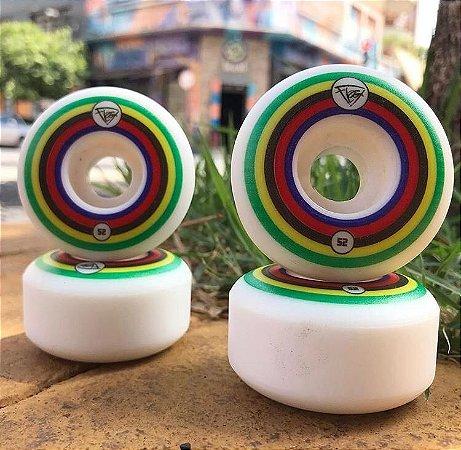 Rodas Para Skate Rodas Flag 52mm