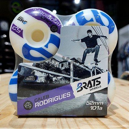 Rodas Para Skate Brats Caleb Rodrigues 52mm 101A