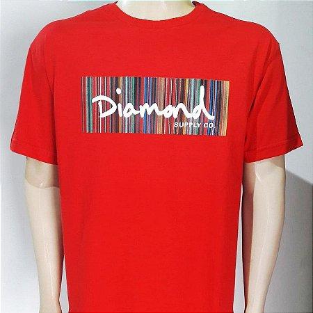 Camiseta Diamond Color Ply Box Logo Tee