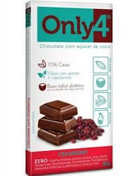 ONLY4 - CHOCOLATE 70% (80G)