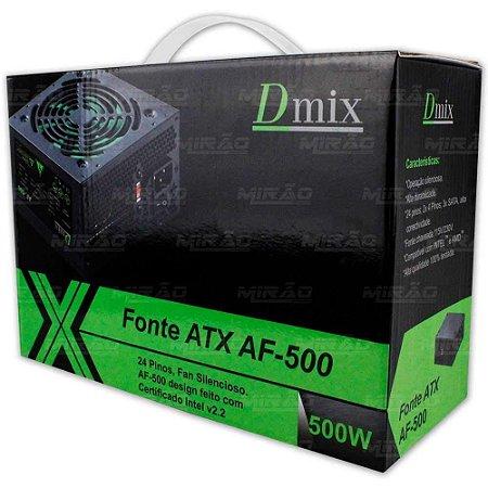 FONTE ATX 500W DMIX AF-500 - DEX