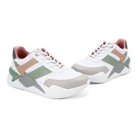 Tenis Feminino Sneaker Ramarim Casual Flatform