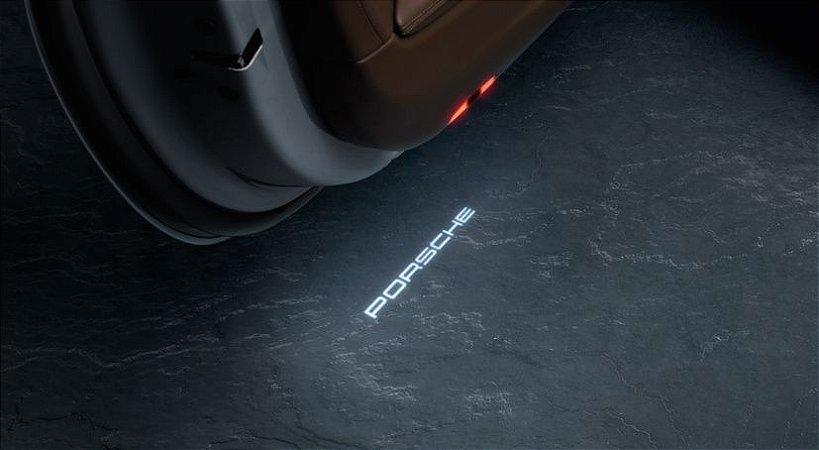 """Projetores da porta LED com logótipo """"PORSCHE"""""""