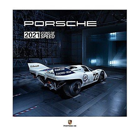 """Calendário Porsche 2021, Ícones da Velocidade"""""""