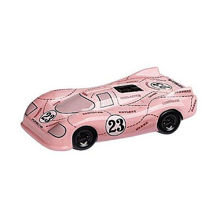 """Cofrinho Porsche  917 """"Pink Pig"""""""