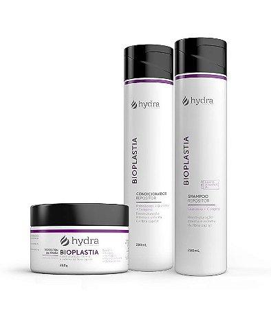 Kit Bioplastia Hydra Cosméticos 3 Produtos