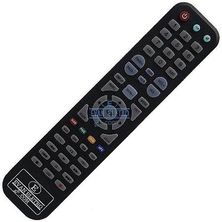 Controle remoto para receptor Azamerica SKY-8018 / LHS 8018