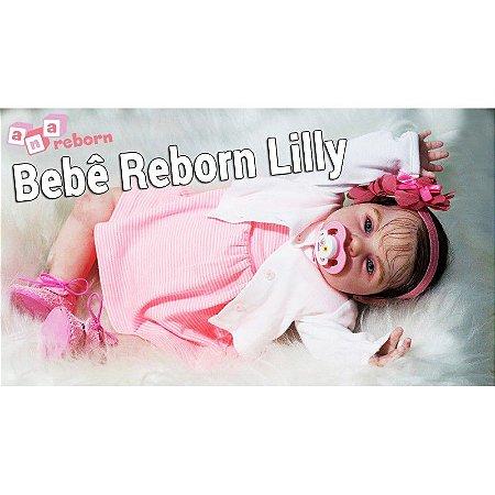 Bebê Reborn Lilly *Canal ERLÂNIA e VALENTINA*