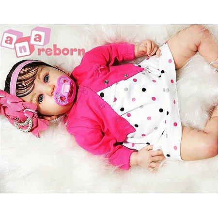 Bebê Reborn em Vinil Soft *Mariah*