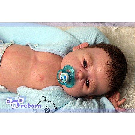 Bebê Reborn em Vinil Soft *RAPHINHA*