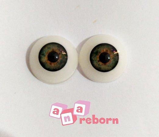 Olhos Verde 16 MM *importado* wd04