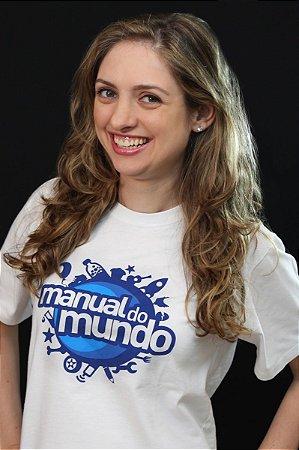 CAMISETA MANUAL DO MUNDO ADULTO - AUTOGRAFADA