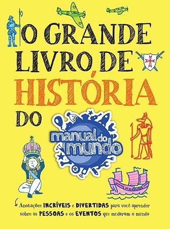 O GRANDE LIVRO DE HISTÓRIA AUTOGRAFADO