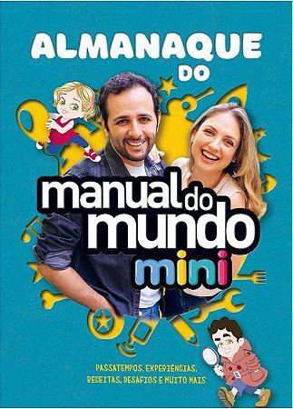 Almanaque do Manual do Mundo Mini - AUTOGRAFADO