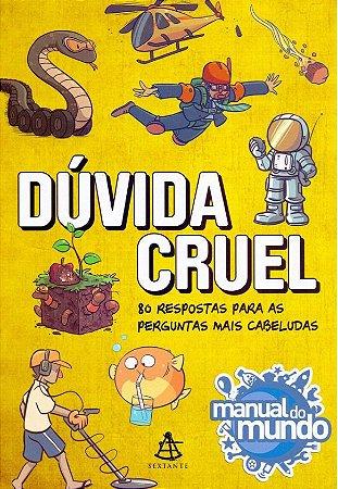 DÚVIDA CRUEL - AUTOGRAFADO