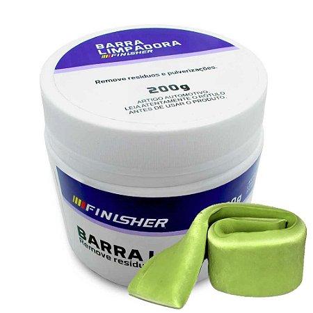 Barra Limpadora e Descontaminadora Clay Bar - Finisher 300 Gramas