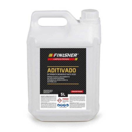 Detergente Desincrustante Aditivado Ácido Finisher - 5 Litros