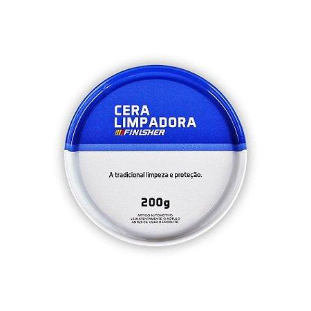 Cera Limpadora e Protetora de Carnaúba Finisher 200g