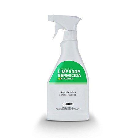 Germicida Finisher Limpa e Desinfeta o Interior do Veículo 500ml