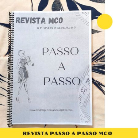 Revista - Passo a passo MCO - IMPRESSÃO PRETO E BRANCO