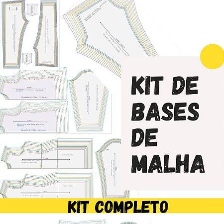 KIT COMPLETO DE BASES PARA MODELAGEM ( MALHARIA)