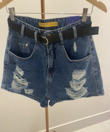 SHORTS JEANS BAGGY CINTO
