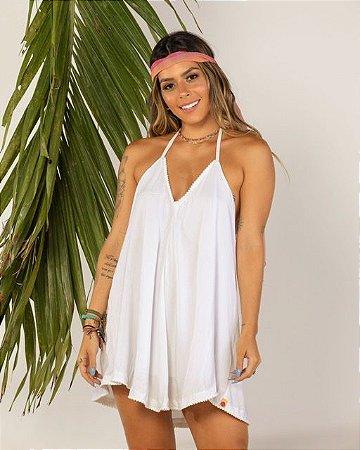Vestido Godê Off White