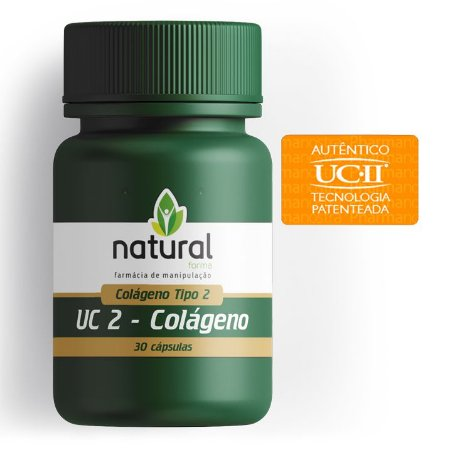 Uc II (Colágeno tipo 2) 40mg 30 Cápsulas