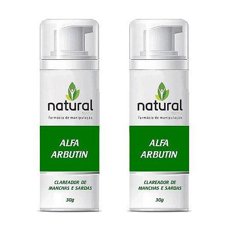 Kit Creme Clareador Alfa Arbutin 30g 2 meses