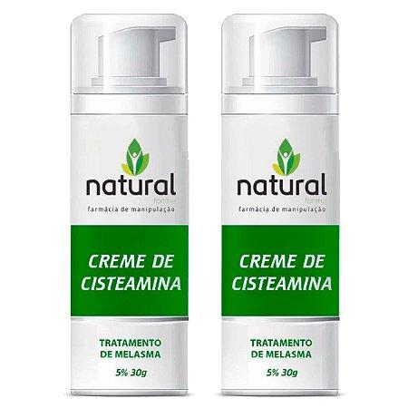 Kit Creme de Cisteamina 5% 30g (2 meses)