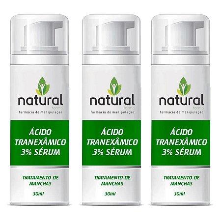 Ácido Tranexâmico 3% sérum - 3 meses
