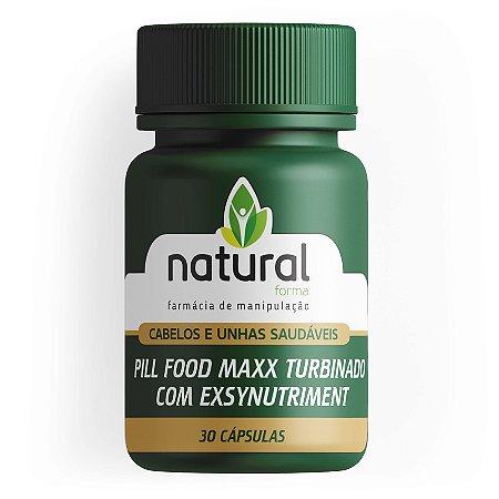 Pill Food Maxx Turbinado com Exsynutriment 30 Doses