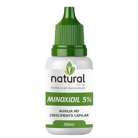 Minoxidil 5% Loção Capilar Com 250ML