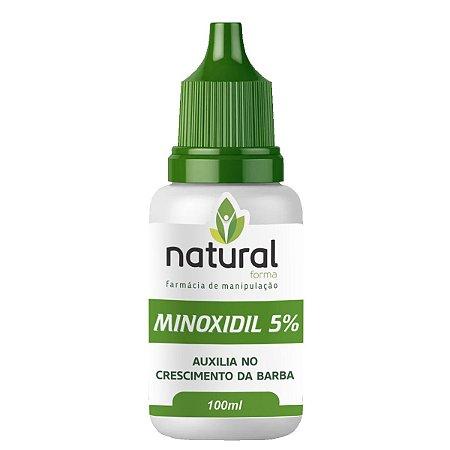 Minoxidil Loção Para Barba 5% 100ML