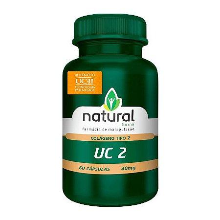 Uc II (Colágeno tipo 2) 40MG 60 Cápsulas