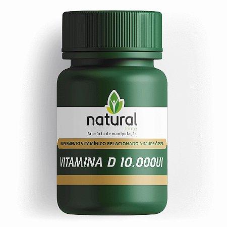 Vitamina D3 10.000UI 60 Capsulas